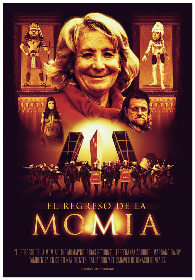 El Regreso De La Momia. Parodia