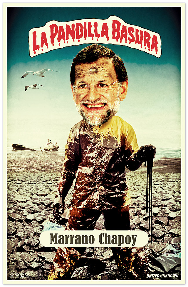 La Pandilla Basura. Rajoy