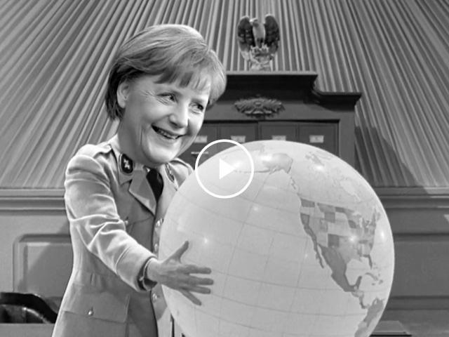 Angela Merkel. The Great Dictator