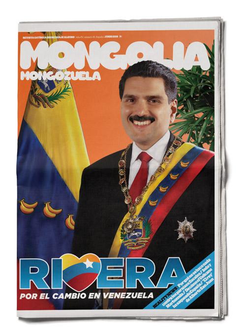 United Unknown Portada para la Revista Mongolia Rivera Venezuela