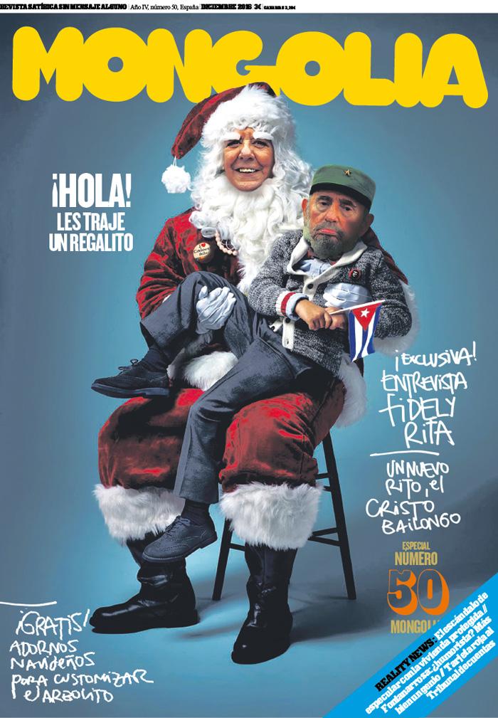 Ácido en la red Portada para la Revista Mongolia Rita Noel