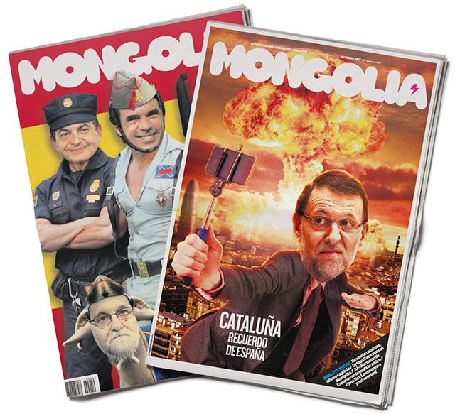 United Unknown Portada para la Revista Mongolia Cataluña