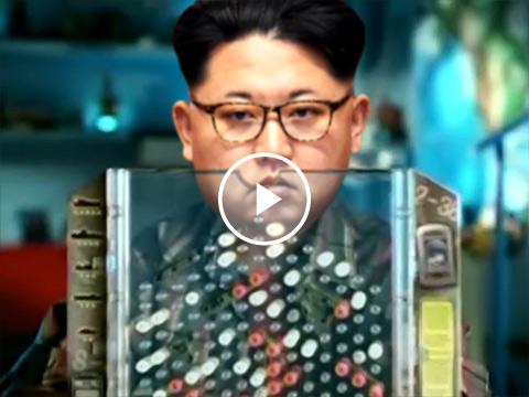 Donald Trump 'Battleship' Kim Jong-un